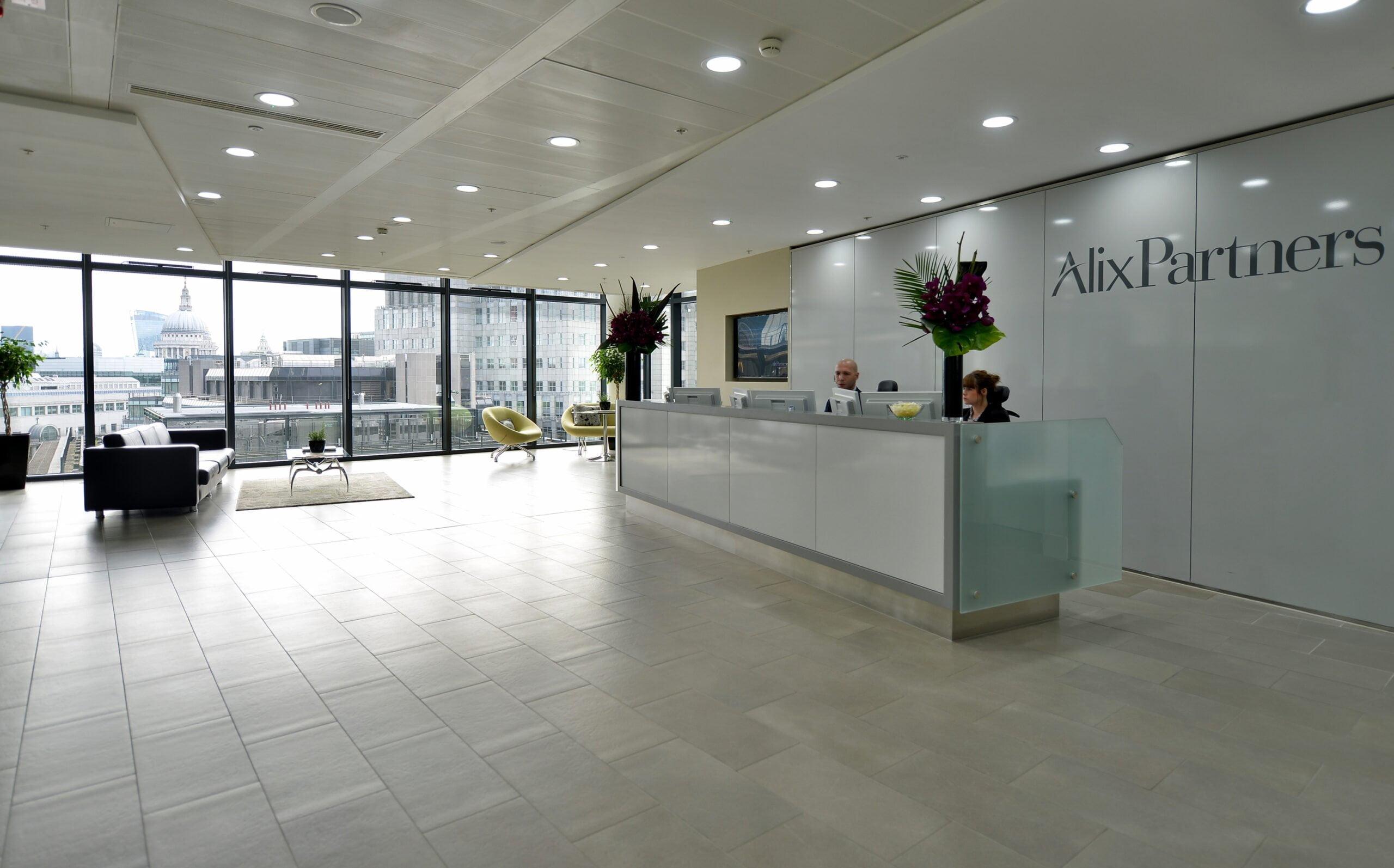 Alix Partners Refurbishment 1