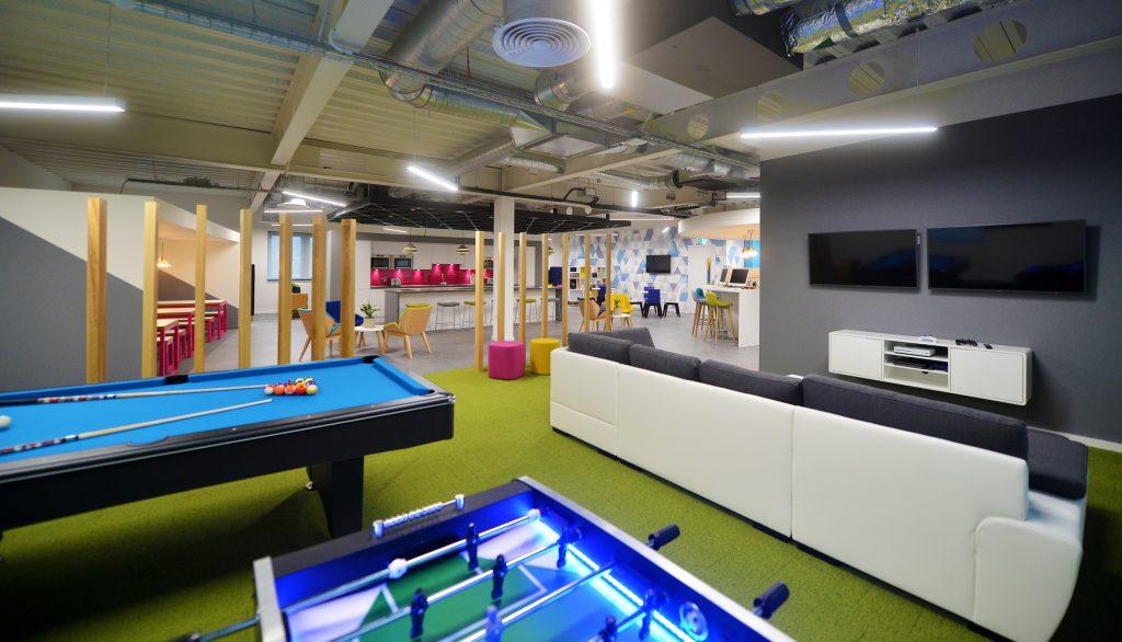 Flexible design that enhances office culture