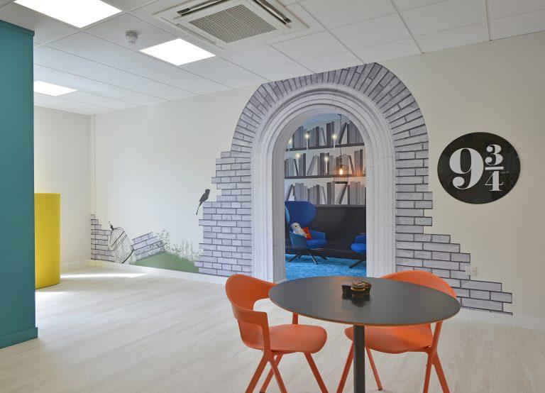 Ascentis Harry Potter Office Fitout